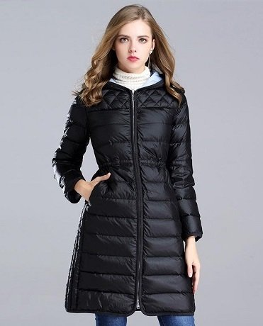 Long Padded Jacket/Puffer Jacket