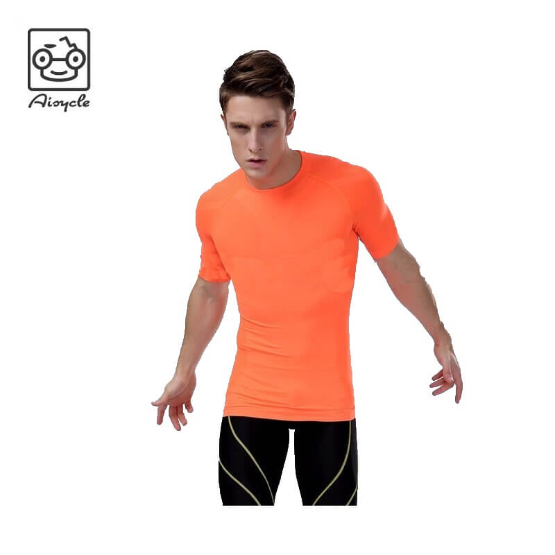 Men Compression T-Shirt Functional Shirt Long Sleeve Fitness Sports Tops US SALE