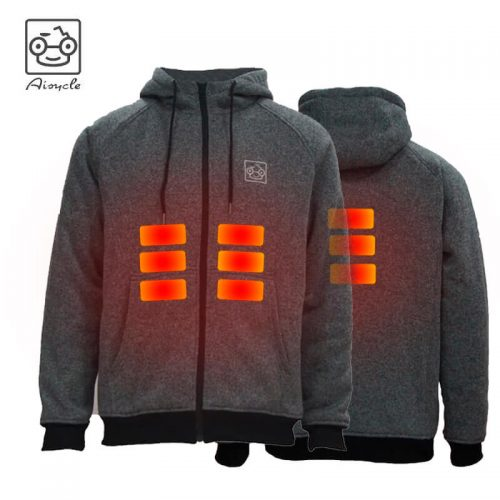 Heated Fleece Hoodie