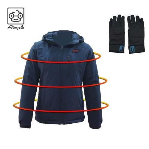 Heated Jacket With Gloves
