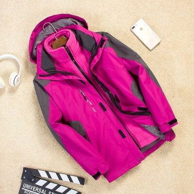 3 in 1 softshell jacket